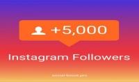 إضافة 1500 متابع انستقرام 100% حقيقي مع 150لايك هدية بـ 5$