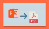 تحويل وتفريغ الصور و الملفات إلى PDF