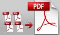 دمج ملفات PDF و التحكم في ترتيبها