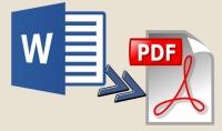 تحويل ملف WORD الى ملف PDF بدقة و بدون اخطاء