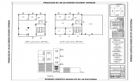 رسم الاعمال الانشائية والمعمارية علي برنامج الاوتوكاد