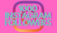 1K متابع حقيقي على Instagram مع إعادة تعبئة 180 يومًا خدمة فورية