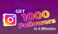 تزويد 1000 متابع متفاعل على إنستغرام مع 1000 لايك مشاهدة  موثوق