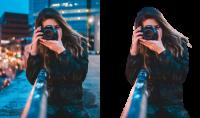 حذف تفريغ وتغيير الخلفية من الصورة