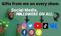 زيادة متابعيين حقيقيين على جميع مواقع التواصل الاجتماعي
