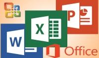 استطيع العمل على word Excel powerpoint