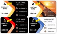 أصمم لك بحول الله بطاقة أعمال حسب النماذج الثمانية المرفقة   اختر منها نموذجا واحدا
