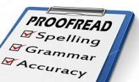 التدقيق اللغوي للغتين العربية والانجليزية