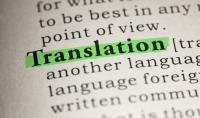 الترجمة من اللغة الصينية إلي العربية و الانجليزية والعكس