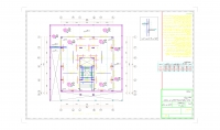 عمل المخططات الانشائية منشئات خرسانية ومعدنية