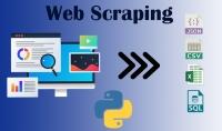 استخراج البيانات من مواقع الانترنت المختلفة  Web Scraping