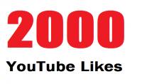 2000 لايك علي فيديوهات اليوتيوب فقط ب 5 $