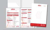 حزمة البدء التصميمية لوجو كارت قالب مراسلة فاتورة غلاف فيس بوك و بروفايل Online brand kit