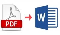 كتابة كتاب من صيغة PDF الى صيغة ورد لسهولة التعدسل عليها