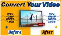 تقليل حجم الفيديو مع الحفاظ علي الجودة تعديل خصائص الفيديو
