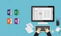 ادخال البيانات على word excel PowerPoint