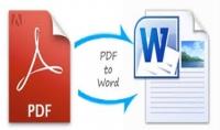 تحويل ملفات PDF إلى ورد بصيغة DOC أو DOCX