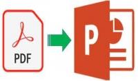 تحويل PDF إلى بور بوينت بصيغة PPT أو PPTX
