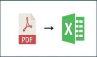 تحويل PDF إلى اكسل Convert PDF to EXCEL