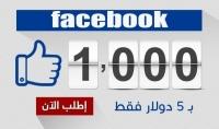 تزويد 1000 متابع علي حسابك الشخصي فى فيسبوك حقيقي   ضمان 30 يوم
