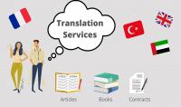 ترجمة نصوص عربي  فرنسي  انجليزي  تركي