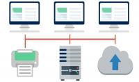 بناء جميع شبكات خاصة بالمؤوسسات والتعديل عليه برنامجPacket Tracer