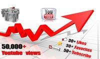 اضافة 50000 الف مشاهدة لليوتيوب و30 لايك و50 متابع و50 مفضلة