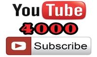 اضافة 4000 متابع لقناتك على اليوتيوب