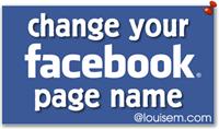 اعطيك طريقىة لتغير اسم صفحتك علي الفيس بوك بعد تخطيها 200 اعجاب