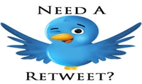 بعمل ريتويتل 10 تغريدات بحسابك من حساب يحتوي على 42 الف متابع